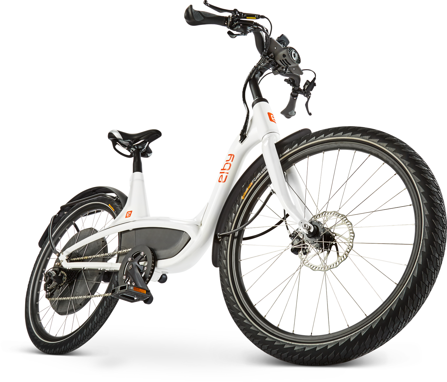 Elby e-bikes front view