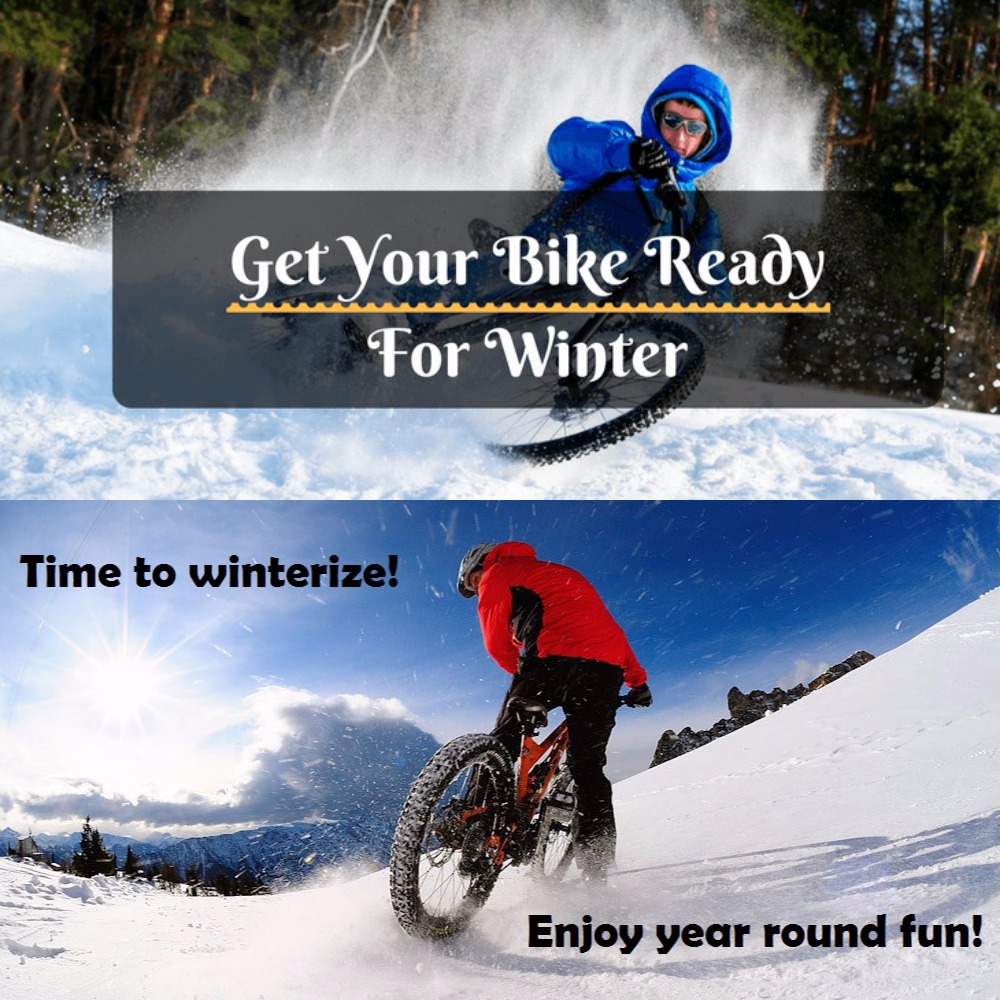 Get your e-bike ready for winter